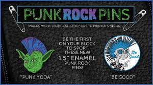 Punk Rock Yoda & ET <b>Enamel</b> Pins by PRL <b>Creative</b> — Kickstarter