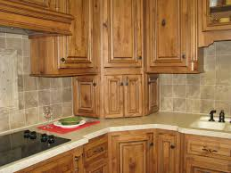 Corner cabinet design traditional-kitchen