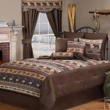 grand teton rustic bedding collection