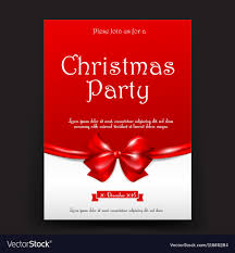 Christmas Invitation Card Merry Christmas Invitation Card Tag Banner