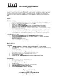 Cover Letter For Marketing Manager Job New Sales Manager Resume ...