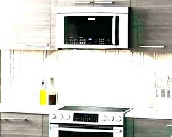 above oven microwave. Install Microwave Over Stove The Above Oven E