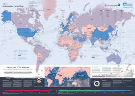 the new seven wonders defining the top technological marvels of  2014 submarine cable map telegeography