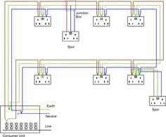 typical house wiring diagram electrical concepts pinterest wiring ethernet socket wiring diagram uk typical house wiring diagram electrical concepts pinterest