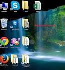 màn hình laptop bị phóng to