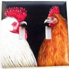 kitchen light switch covers kitchen. Double Light Switch Cover - Plate Rooster \u0026 Hen Kitchen Decor Covers E