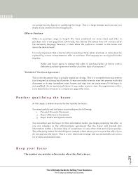 Business Purchase Offer Letter Agreement Template Absolute ...