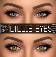 Simpliciaty: Lillie Eyes en 2020 | Pelo sims, Sims, Sims 4 mods