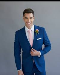 best 25 men wedding fashion ideas on pinterest wedding groom Wedding Hire Outfits peppers formal wear bright blue fitted wedding suit made to measure sydney hire wedding outfits for ladies