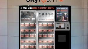 Renting Vending Machines Stunning Grab Some Internet At These Skyroam Airport Vending Machines
