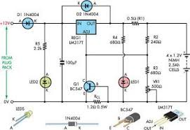 float charger for nimh cells eeweb community float charger for nimh cells circuit diagram