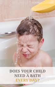 does your kiddo need a bath every day growingupherbal com do kids