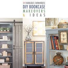14 fabulous farmhouse diy bookcase ideas makeovers