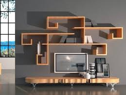 Small Picture Design in Living Spaces Wooden Wall Shelves projeto Pinterest