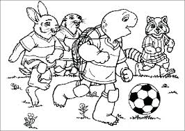 Soccer Coloring Pages Free Soccer Coloring Es Printable Soccer