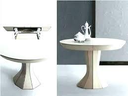 marvelous round extendable dining table modern home design living inside expandable pedestal decor 15
