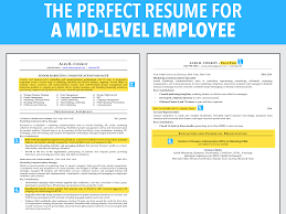 Ideal Resume For Mid Level Employee Business Insider This Is Peppapp