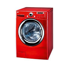 washing machine drawing color. red washing machine drawing color e