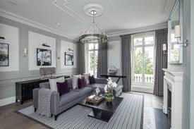 kensington town house living room by london home staging ltd