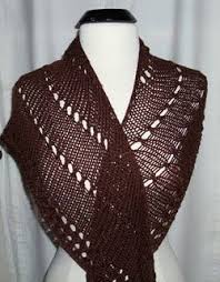 Knitted Shawl Patterns Custom An Easy Shawl To Knit AllFreeKnitting