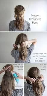 How To Make A Hair Style best 25 messy ponytail hairstyles ideas messy 4705 by wearticles.com