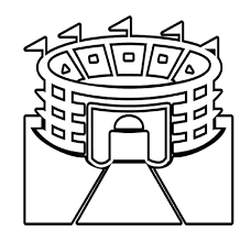 Small Picture Pictures Stadium Super Bowl Coloring Pages Super Bowl Party