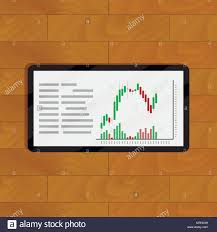 Ex Currency Chart Chart And Graph On Tablet Currency Diagram Financial