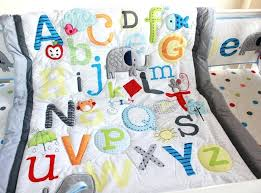 abc baby bedding characters newborn baby boy crib bedding set cot pottery barn abc crib bedding