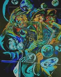 Ensemble Painting by Shawn Garrison