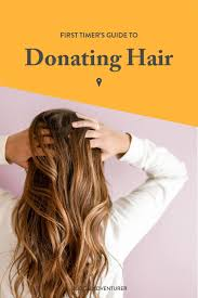 to donate hair