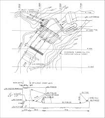 Overflow Spillway Design Example Plan And Section Of The Spillway Original Design Download
