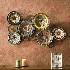 wall lamp plates ideas for hanging plates on wall luxury 51 decorating kitchen walls with