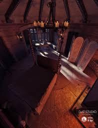 Medieval Bedroom Medieval Tower Bedroom 3d Models And 3d Software By Daz 3d