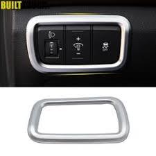 <b>VODOOL</b> 4pcs <b>Car Front</b> Dashboard Decoration Frame <b>Car</b> Styling ...