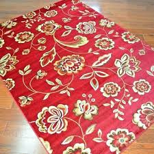 red area rugs 8x10 fl area rugs delectably yours com city flora times claret red fl