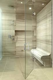 oversized shower tile showers ideas bathroom contemporary with shower bench mosaic tiles curved