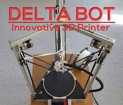 picture of delta bot diy 3d printer