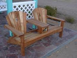 double adirondack chair plans. Fabulous Adirondack Chair Bench Double Plans Free Projects Pinterest Frees (ordinary