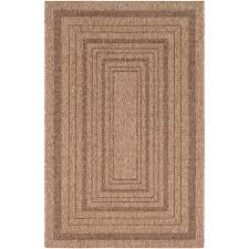 2 x 3 x small camel brown indoor outdoor area rug marmaris rc willey furniture