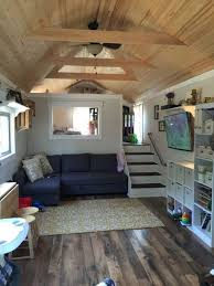 Tiny Home Interiors 39 Gooseneck Tiny House W Loft House Ideas Pinterest  Tiny Style