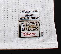 Jordan 1984-85 Jersey Roy Patch Rookie With Bulls Michael Signed Le Authentic 119 Mitchell Ness amp; 1