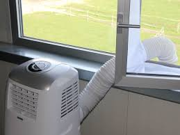 Fensterdurchführung Zu Mobilen Klimagertäen Mit Abluftschlauch