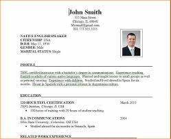 Job Resume 60 format of resume for job application to download Basic Job 54