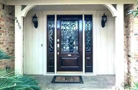 front door glass panels replacement s front door glass panel replacement cost