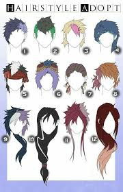 Hair Style Anime best 25 anime boy hairstyles ideas anime 5372 by wearticles.com