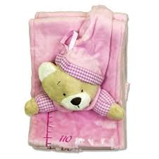 Teddy Height Chart Pink 17 99 Personalised Gifts