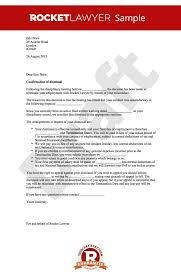 appeal letter for termination of employment dismissal letter for misconduct sample dismissing employee after