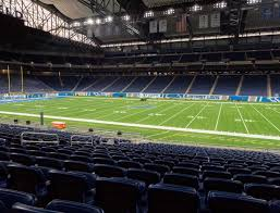 Ford Field Section 108 Seat Views Seatgeek
