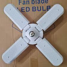 Bóng đèn led hình 4 cánh quạt 60w siêu sáng - bảo hành 1 năm - Bóng đèn  Nhãn hiệu No brand