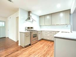 grey wood cabinets stain